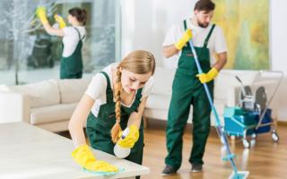 Cредства для уборки после ремонта