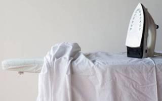 Как гладить белье?
