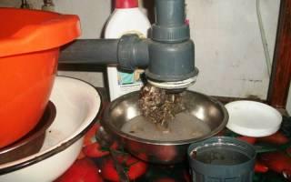 Запах из раковины на кухне – как устранить?