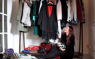 Как сделать порядок в шкафу?