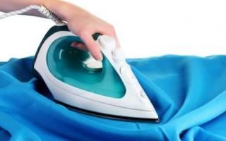 Как гладить шелк?