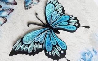 Как сделать бабочку из бумаги своими руками?