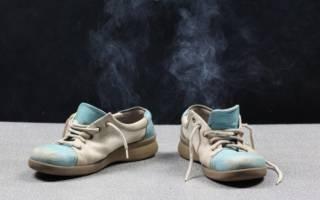 Как убрать запах в обуви в домашних условиях?