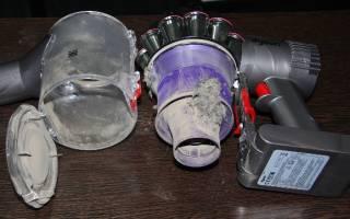Как чистить пылесос Дайсон?