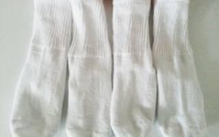 Как отстирать белые носки?