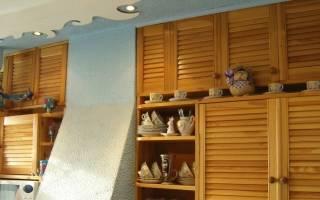 Кухонный шкаф своими руками
