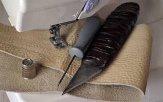 Инструмент для работы с кожей своими руками