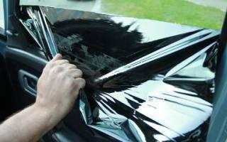 Как убрать клей от тонировки со стекла?