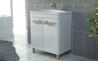 Как подобрать тумбу под раковину в ванной?