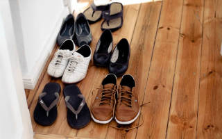 Можно ли хранить обувь зимой на балконе?