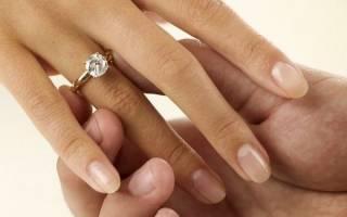 На какой руке носят помолвочное кольцо?