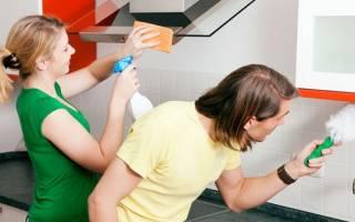 Как почистить пластиковую кухню?