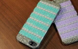 Как украсить чехол для телефона своими руками?