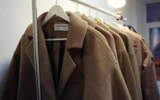 Как гладить пальто?