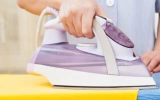 Как разгладить шторы на весу?