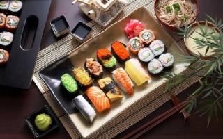 Как сделать суши без коврика?