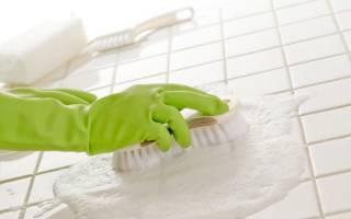 Как очистить керамическую плитку