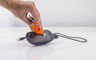 Как почистить мышку?