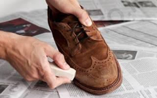 Как почистить светлую замшевую обувь в домашних условиях?