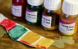 Краска для кожаных изделий