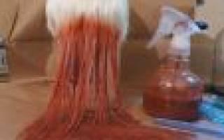 Как покрасить парик из искусственных волос в домашних условиях?