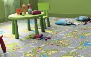 Линолеум для детской комнаты, все особенности выбора