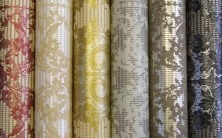 Как клеить текстильные обои?