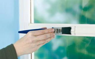 Как очистить стекло от краски?