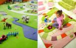 Как сшить объемный коврик для ребенка?