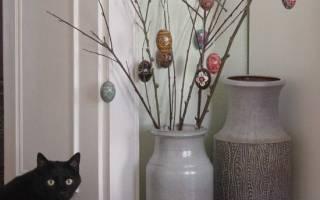 Как сделать декоративные ветки для напольной вазы своими руками?
