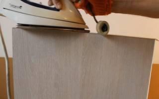 Как ламинировать ДСП в домашних условиях?