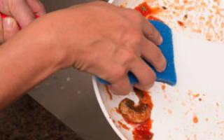 Как очистить керамическую сковороду от нагара внутри?