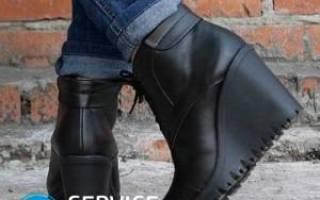 Как постирать зимние ботинки внутри?