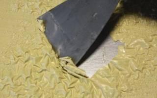 Как снять старую краску с металла?