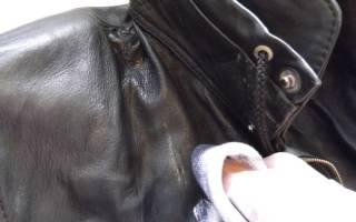 Как обновить кожаную куртку в домашних условиях?