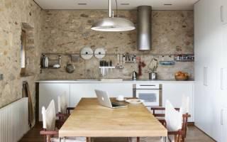 Дизайн стен на кухне, интересные идеи