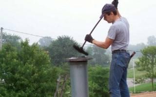 Ерш для чистки дымохода своими руками