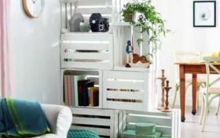 Мебель своими руками из подручных средств