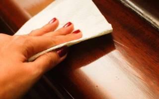 Как удалить лак с мебели