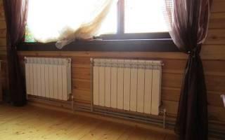 Как правильно установить батареи отопления в квартире?