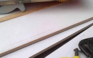 Как сделать мебельный щит своими руками?
