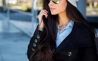 Как подобрать шапку к пальто?