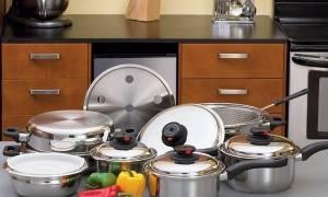 Как очистить тарелки от желтого налета?