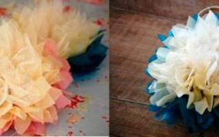 Как сделать цветок из фатина своими руками?