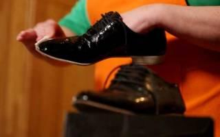 Как ухаживать за лаковой обувью?