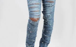 Как обновить джинсы?