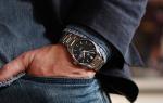 Как носить часы на руке мужские?