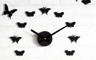Как сделать бабочек из бумаги своими руками на стену?