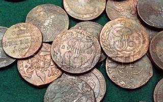 Как очистить медную монету?