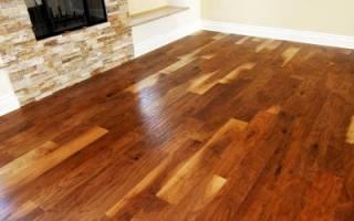 Как положить линолеум на деревянный пол?